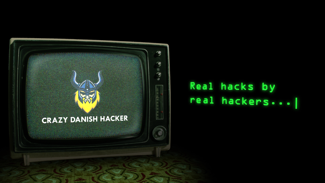 Crazy Danish Hacker – Channel Promo